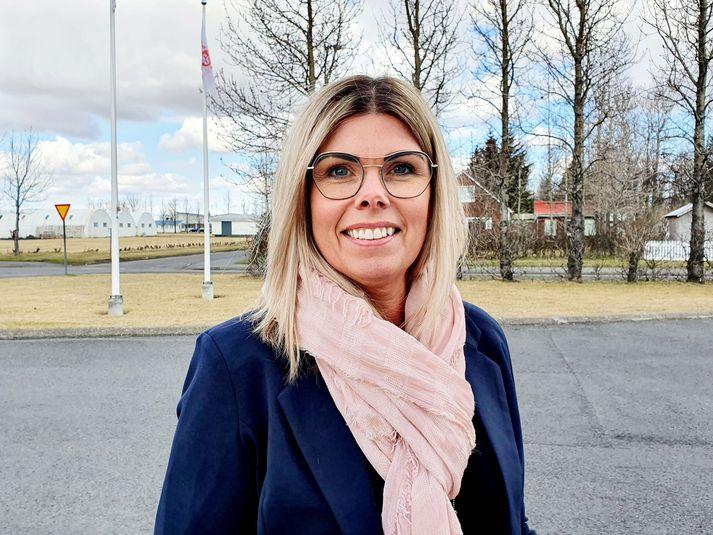 Lilja Einarsdóttir, sveitarstjóri Rangárþings eystra.
