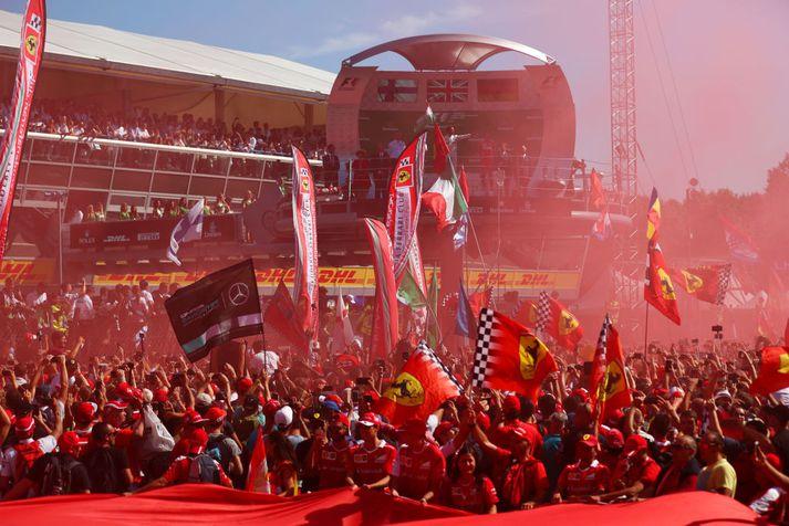 Fagnar Ferrari loks sigri fyrir framan stuðningsmenn sína?