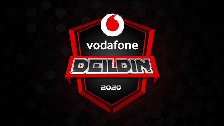 Í Vodafone deildinni er keppt í rafíþróttum.