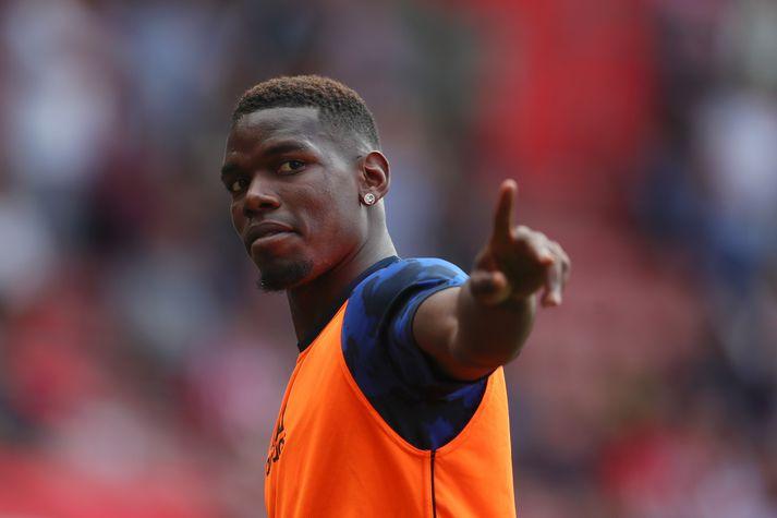 Paul Pogba mun væntanlega yfirgefa Manchester United næsta sumar.