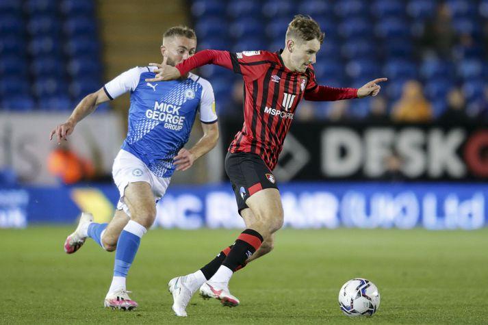 David Brooks í leik gegn Peterborough United.