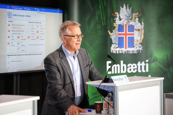 Þórólfur Guðnason, epidemiolog