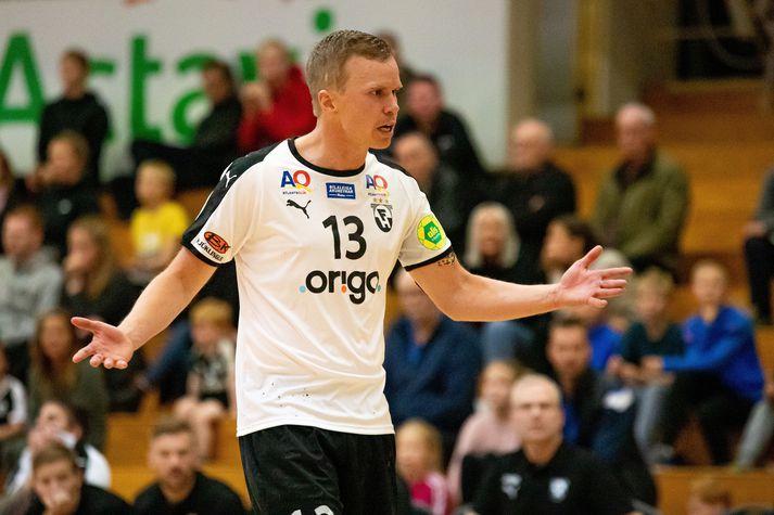Einar Rafn Eiðsson er leikmaður FH-liðsins.