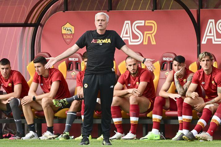 Mourinho er mættur til starfa á Ítalíu á nýjan leik.