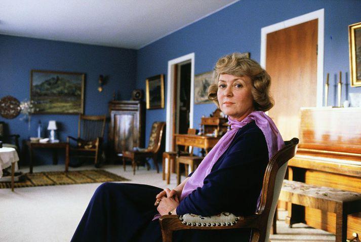 Vigdís Finnbogadóttir árið 1980, sumarið sem hún var kjörin forseti Íslands.