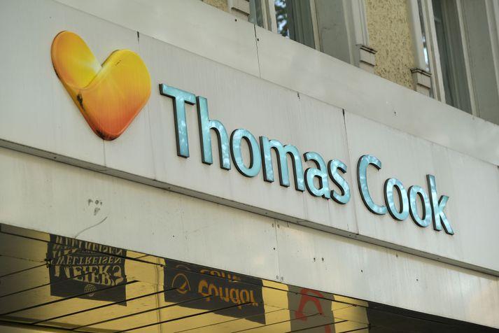 Thomas Cook lýsti yfir gjaldþroti í lok september.