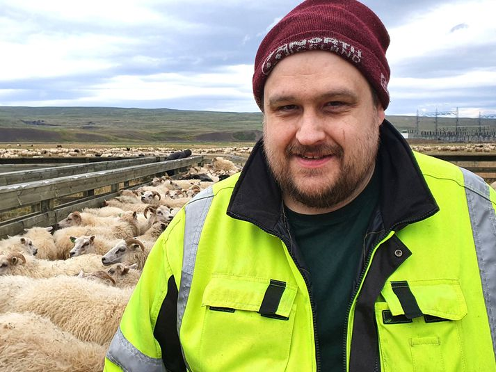 Guðmundur Ísfeld, réttarstjóri og bóndi á Jaðri.