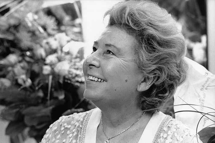 Christa Ludwig varð 93 ára.