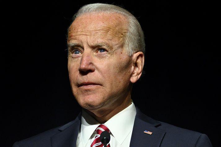 Joe Biden gegndi embætti varaforseta Bandaríkjanna í forsetatíð Barack Obama.