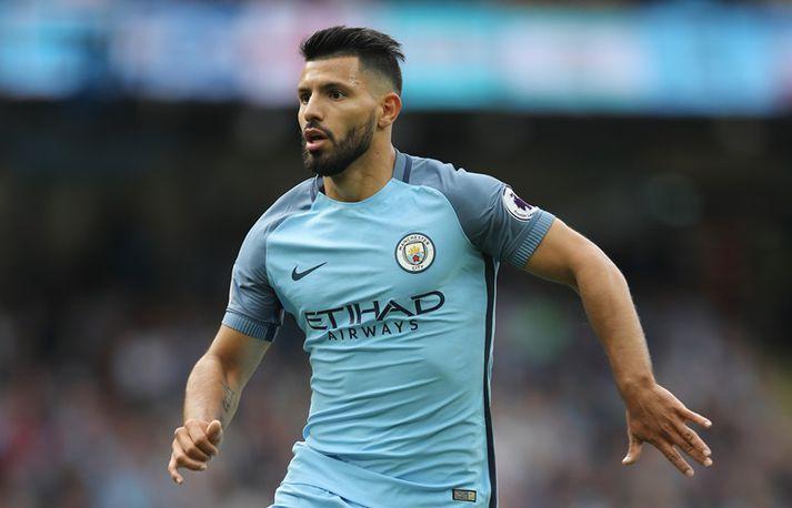 Sergio Aguero er markahæsti leikmaður Manchester City frá upphafi