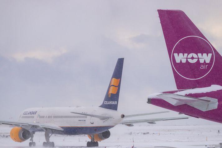 WOW Air fór í þrot í lok mars á síðasta ári. Primera air fór á hausinn haustið 2018.
