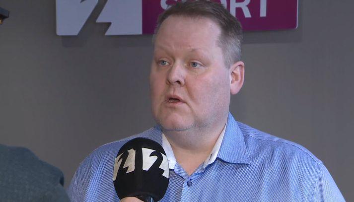 Hannes S. Jónsson, formaður KKÍ.