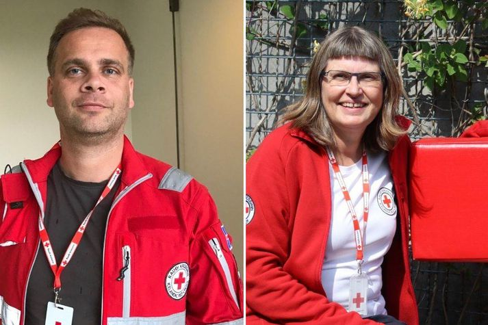 Jón Eggert Víðisson og Lilja Óskarsdóttir