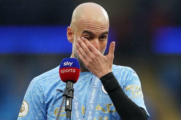 Svo vildi Pep aldrei frá Ronaldo eftir allt saman.