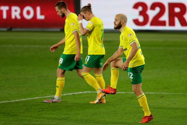 Middlesbrough v Norwich City - Sky Bet Championship - Riverside Stadium Norwich City's Teemu Pukki scores from the spot during the Sky Bet Championship match at the Riverside Stadium, Middlesbrough. (Photo by Richard Sellers/PA Images via Getty Images)