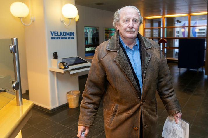 Jón Baldvin Hannibalsson, fyrrverandi utanríkisráðherra.