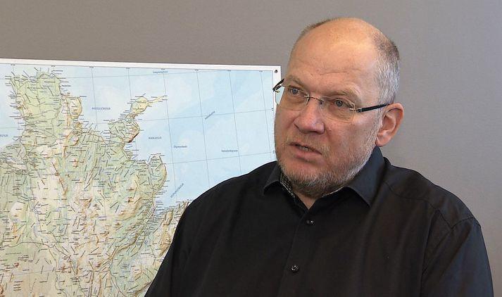 Elías Pétursson, fráfarandi sveitarstjóri Langanesbyggðar.