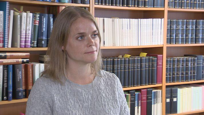 Sigrún Ingibjörg Gísladóttir lögmaður á Rétti.