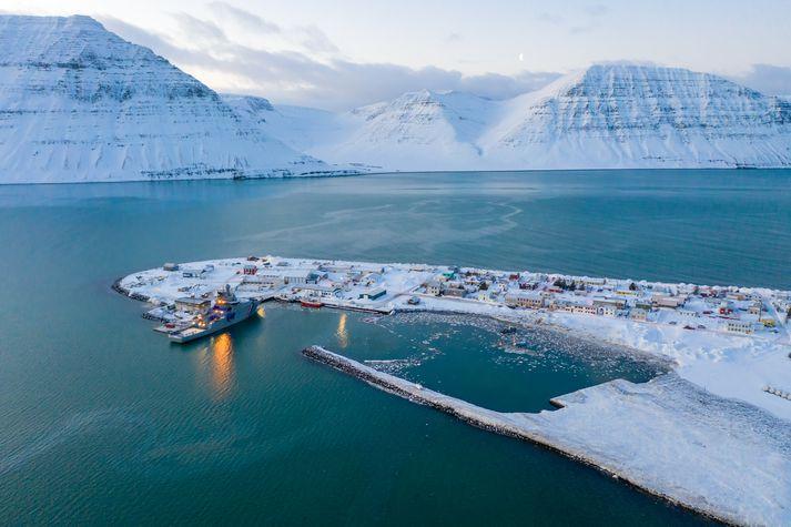 Flateyri við Önundarfjörð.