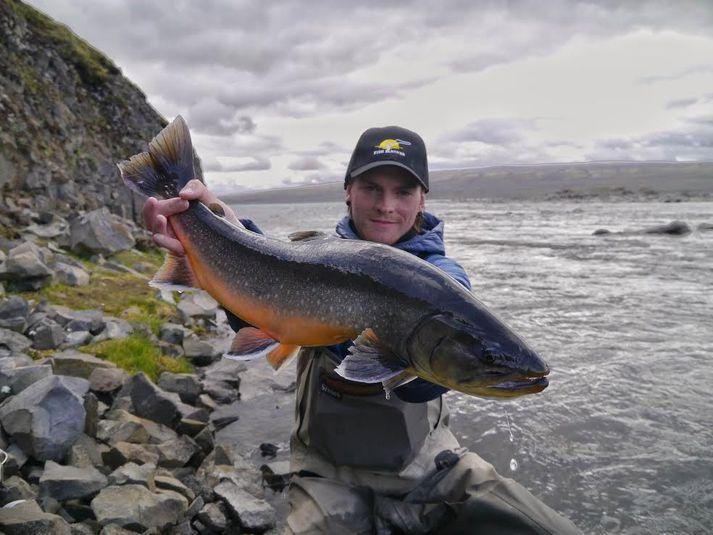 Kaldakvísl er meðal þeirra veiðisvæða sem Fish Partner eru með á sínum snærum.