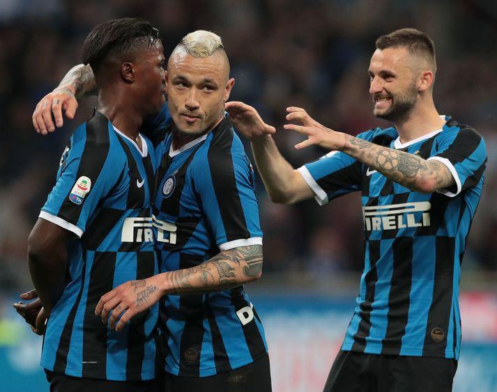Radja skaut Inter í Meistaradeildina