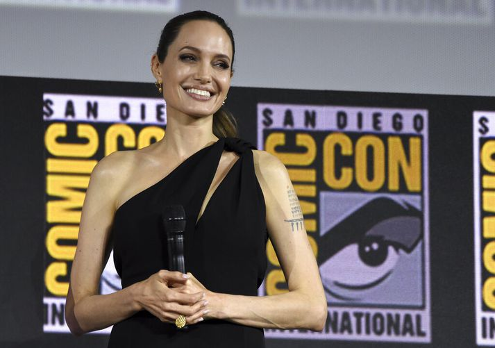 Angelina Jolie mun leika í The Eternals.