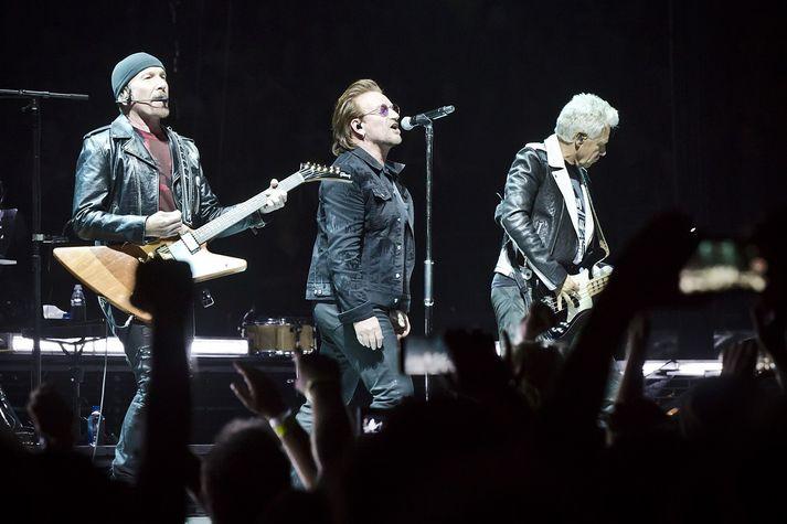Edge, Bono og Adam Clayton.