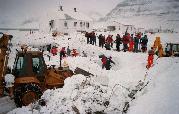 Ofanflóðasjóður var stofnaður eftir mannskæð snjóflóð í Súðavík og á Flateyri árið 1995.