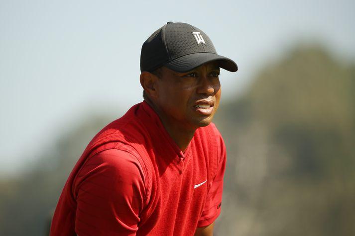 Tiger Woods verður ekki með um næstu helgi.
