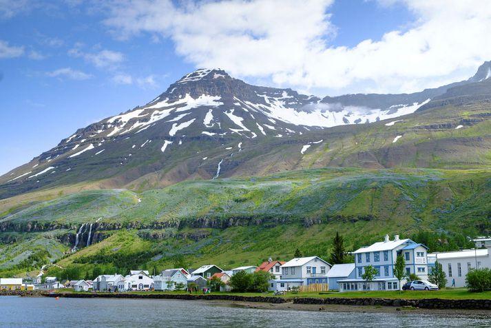Búist er við að Brúará á Seyðisfirði verði mórauð næstu daga.