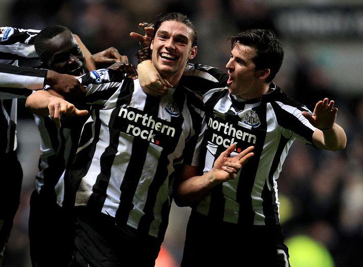 Andy Carroll var iðinn við kolann hjá Newcastle á sínum tíma
