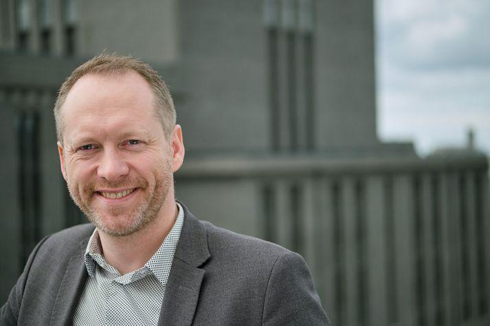 Guðmundur Ingi Guðbrandsson umhverfisráðherra.