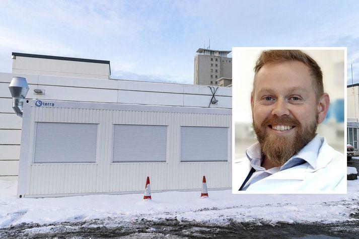Ragnar Freyr Ingólfsson er yfirlæknir á Covid-göngudeild Landspítalans.