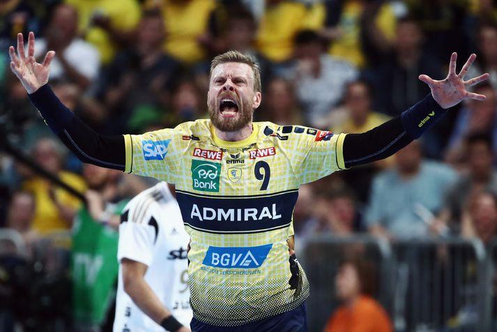 Guðjón Valur Sigurðsson er enn þá á toppnum 39 ára gamall.