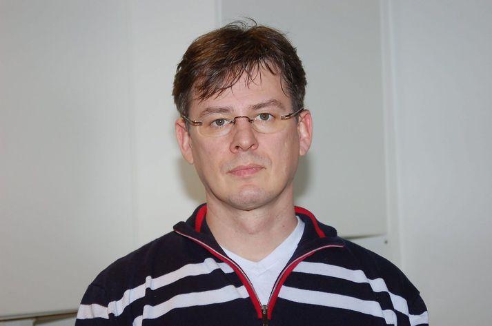 Erpur Snær fuglafræðingur.