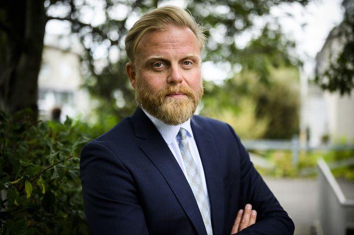 Ásgeir Jónsson er að stimpla sig inn sem seðlabankastjóri.