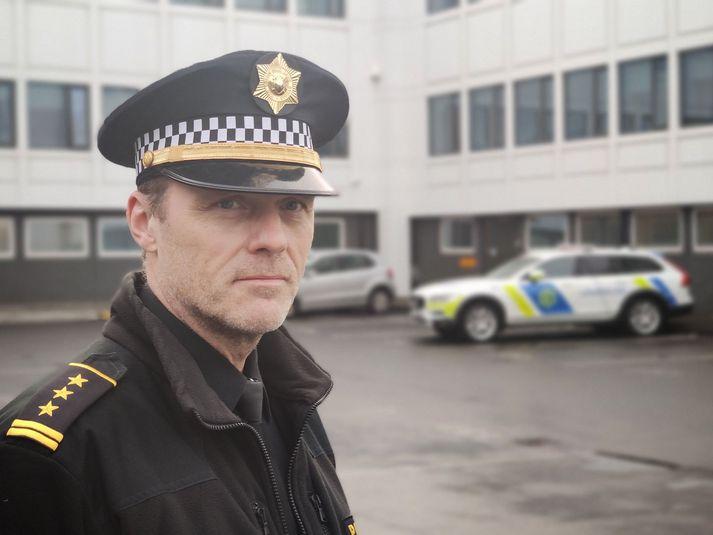 Margeir Sveinsson aðstoðaryfirlögregluþjónn hjá lögreglunni á höfuðborgarsvæðinu.