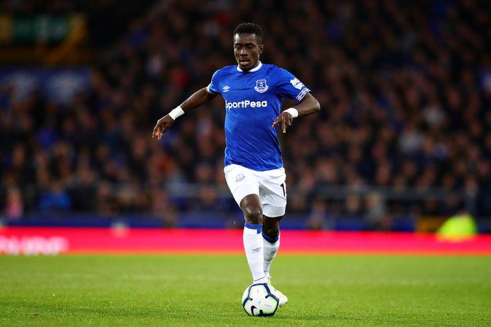 Gueye í leik með Everton á síðustu leiktíð.