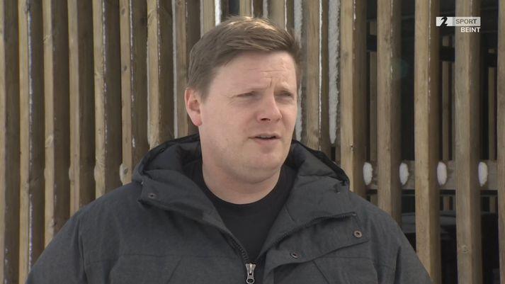 Kristinn Björgúlfsson er nýráðinn þjálfari ÍR. Hann tekur við erfiðu búi í sumar.