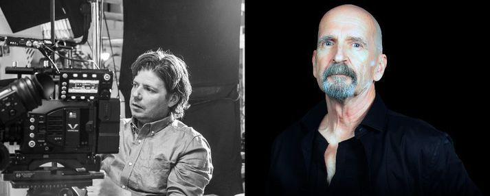 Weekendson og Michael Sadler söngvari hljómsveitarinnar Saga