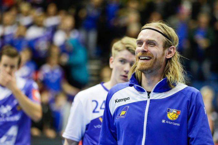 Björgvin Páll fyrir landsleik.