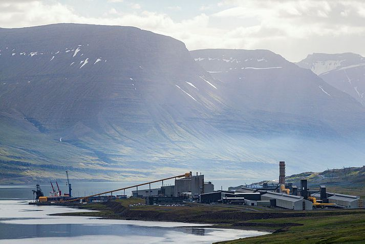 Álver Alcoa Fjarðaáls við Reyðarfjörð er stærsta álver landsins.