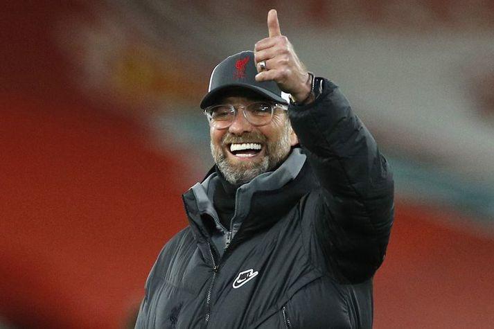 Það er enginn uppgjafartónn í Jürgen Klopp, knattspyrnustjóra Liverpool, þrátt fyrir þrjú töp í röð og mjög erfiða byrjun á árinu 2021.
