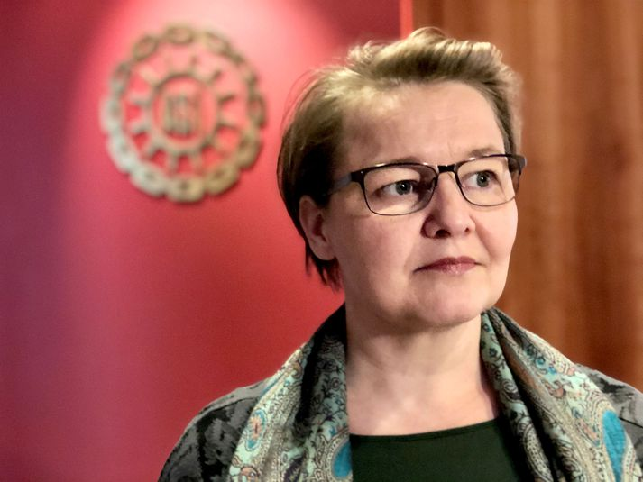 Drífa Snædal, forseti Alþýðusambands Íslands.