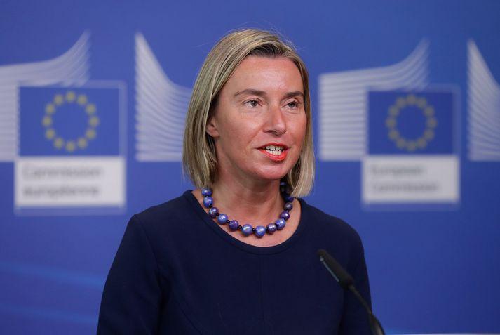 Federica Mogherini, utanríkismálastjóri ESB.