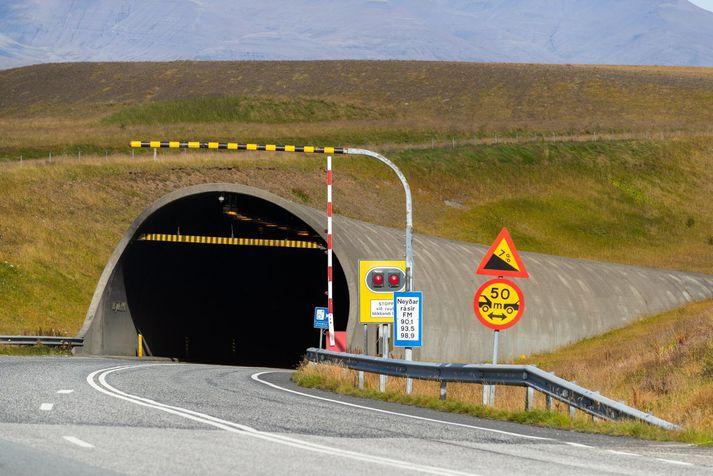 Fólkið var handtekið við Hvalfjarðargöng í febrúar.