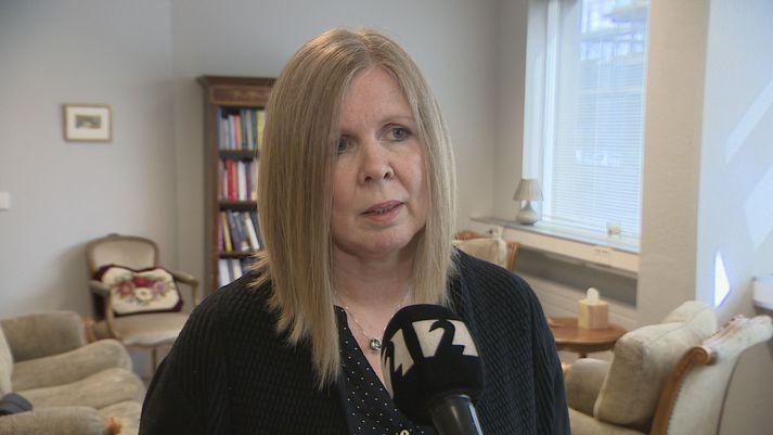 Anna María Jónsdóttir geðlæknir.