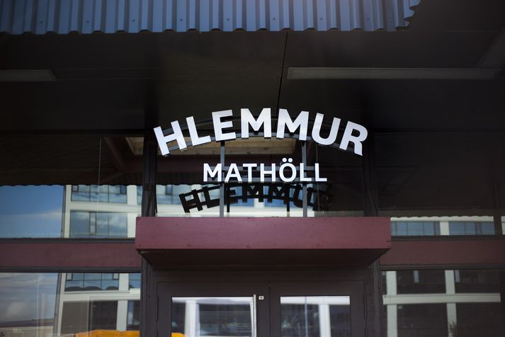 Meðgangan hefur verið erfið, að sögn framkvæmdastjóra Hlemms Mathallar, en nú sér fyrir endann á framkvæmdunum.
