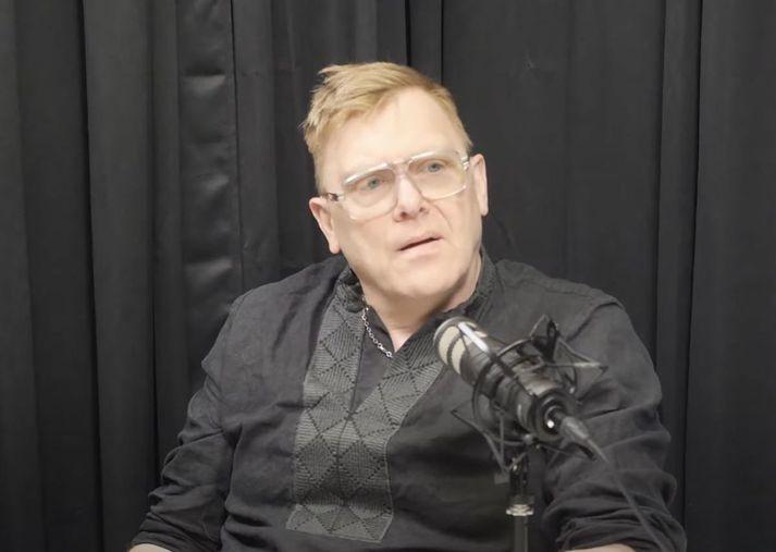 Jón Gnarr var gestur í hlaðvarpinu 24/7.
