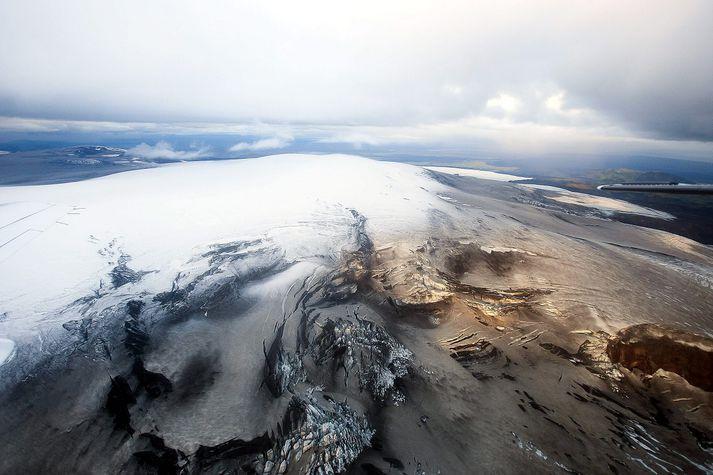 Eldfjallið Katla er í Mýrdalsjökli.